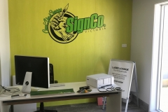 SignCo. Traralgon Reception Area