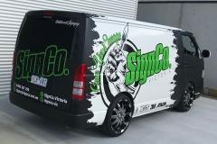 SignCo Van